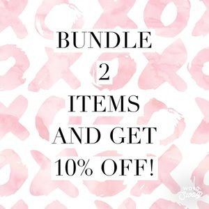 Other - 10% off any 2 items!!!